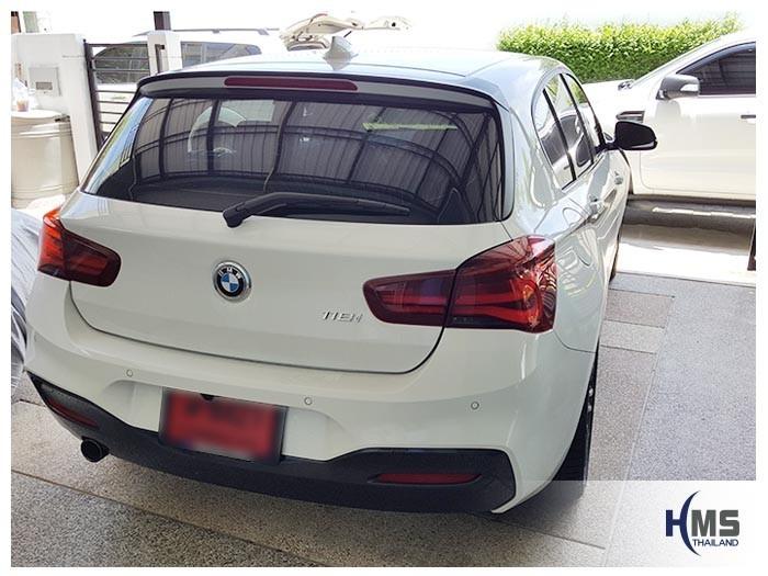20180604 BMW 118i_back,ติดตั้งกล้องมองหลัง