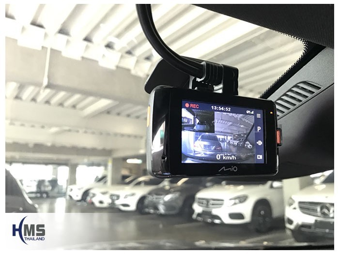 20180830 Mercedes Benz CLA250_C117_DVR_Mio_MiVue_792,กล้องติดรถยนต์ MIo MiVue 792 ติดตั้งหน้ารถ Mercedes Benz CLA250 C117