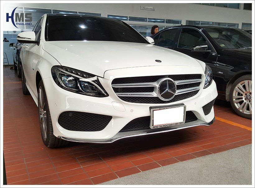 20180212 Mercedes Benz C350e_W205_back