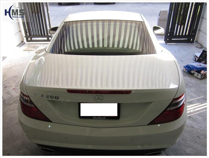 Mercedes Benz SLK200 Back