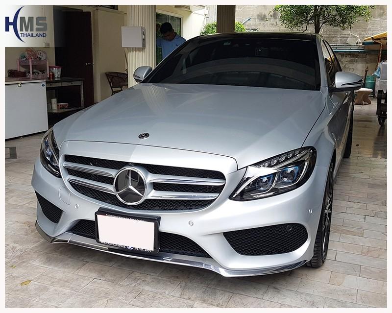 20180706 Mercedes Benz C350e W205_front,ติดกล้องติดรถยนต์ บน Mercedes Benz C350e
