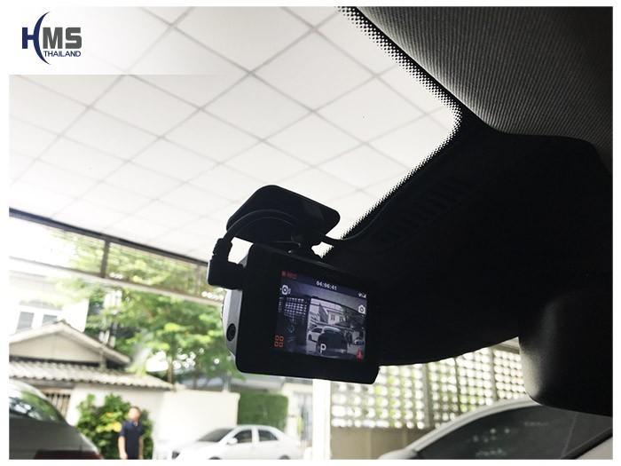 20180831 Mercedes Benz GLA200_W156_DVR_Mio_MiVue_786_Wifi_back,หน้าจอกล้องติดรถยนต์ Mio MiVue 786 Wifi ระบบสัมผัส ติดตั้งหน้ารถ Mercedes Benz GLA200