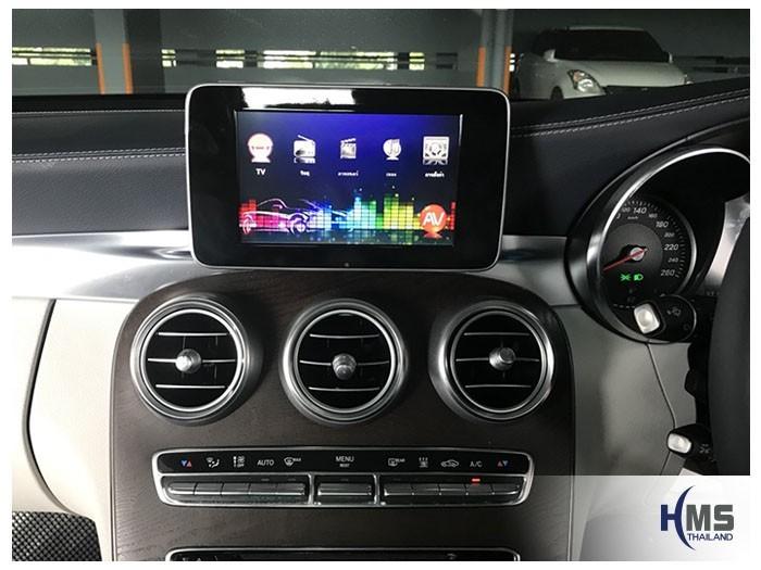 20180811 Mercedes Benz C350e_W205_TV Digital_ASUKA_HR600_Main_menu,TV Digital, ทีวีดิจิตอล, ดิจิตอลทีวี, ทีวีติดรถยนต์, TV ติดรถยนต์, ทีวีในรถ , ทีวีรถยนต์, Digital TV,ทีวี
