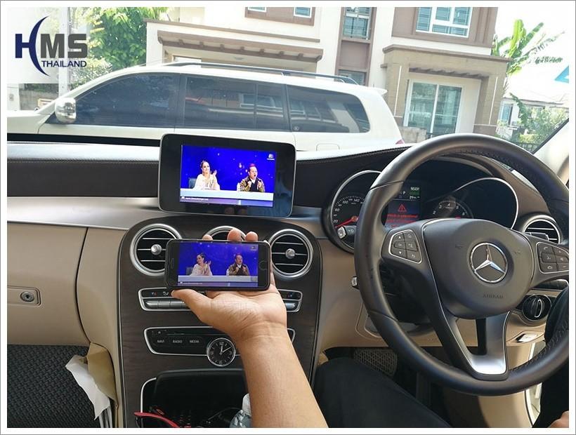 20171213 Mercedes Benz C350e W205_Mirror Link
