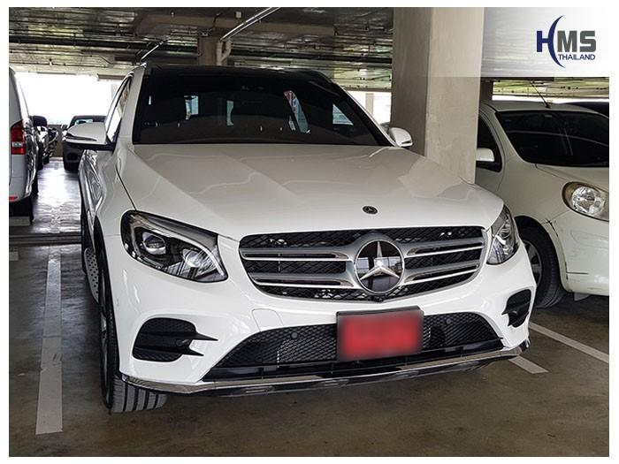 20180531 Mercedes Benz GLC250d_W253_front,ติดตั้งกล้องติดรถยนต์ Mercedes Benz GLC250d