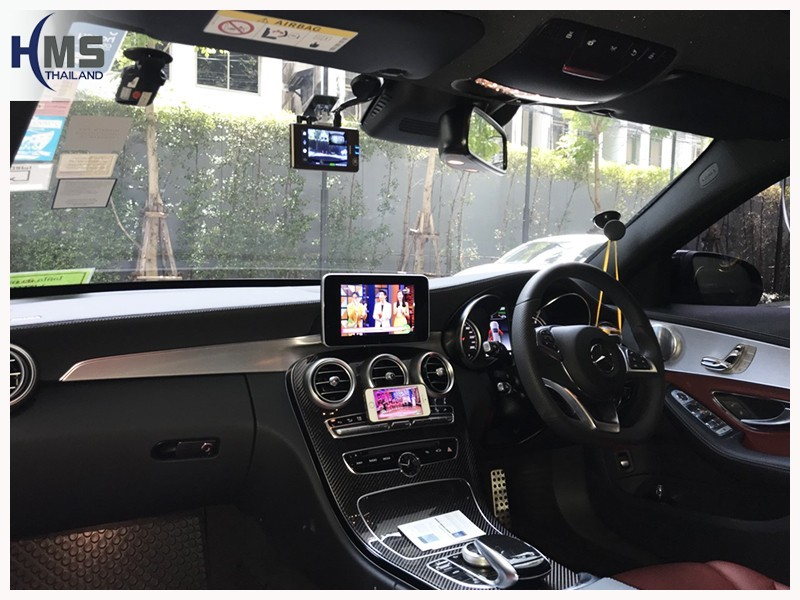 20180703 Mercedes Benz C350e W205_DVR_Thinkware_QX800_screen