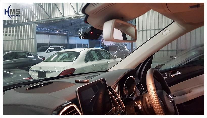รีวิว Mercedes Benz GLE500e + กล้องติดรถยนต์ Thinkware F800 Pro