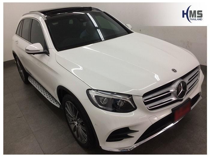 20180825 Mercedes Benz GLC250d_W253_front,ติดตั้งกล้องหน้ารถบนรถ Mercedes Benz GLC250d