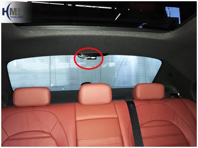 20180703 Mercedes Benz C350e W205_DVR_Thinkware_QX800_rear
