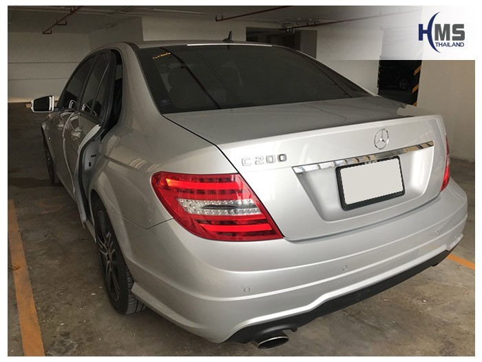 20180815 Mercedes Benz C200_W204_back,Benz, Mercedes ,เบนซ์ ,เมอร์เซเดส, ซาลูน,ราคาเบนซ์,facelift ,Brabus ,AMG ,Bluetec ,Hybrid,ไฮบริด