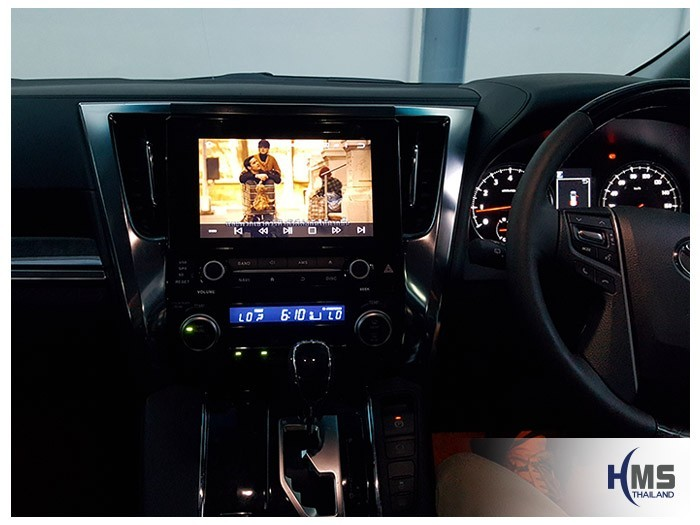 20180509 Toyota Alphard_DVD_Player_KD9300_Movie_View