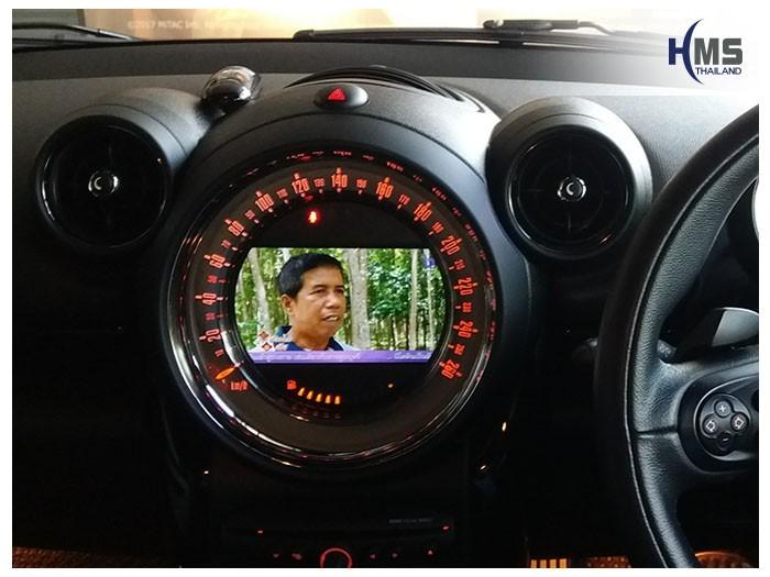 20180605 Mini Countryman_TV Digital_ASUKA_HR600,ทีวีดิจิตอล,ดิจิตอลทีวี,ทีวีติดรถยนต์