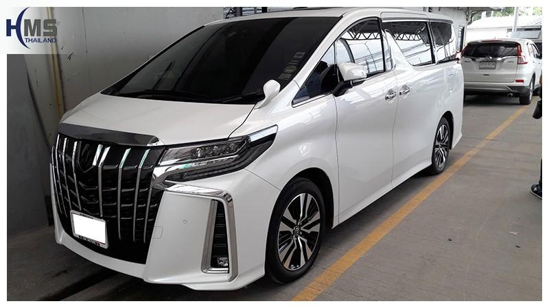 20181010 Toyota Alphard,ติดตั้งอุปกรณ์บนรถ Toyota Alphard โดย HMS Thailand