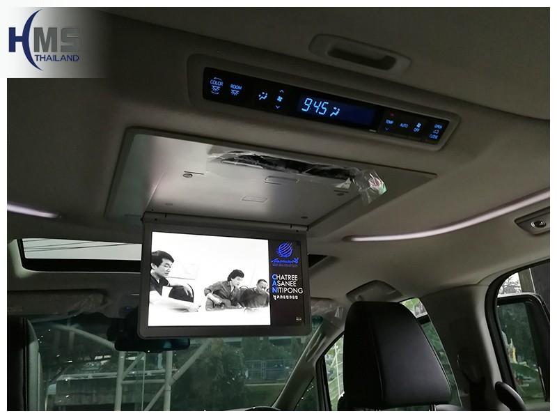 20181013 Toyota Alphard_Roof Monitor_Alphard 13.3