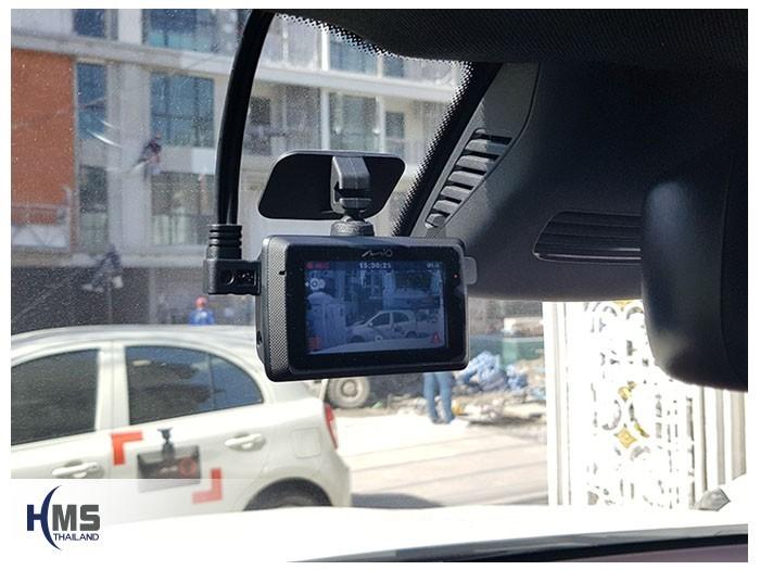 20180901 Mercedes Benz GLC250d_DVR_Mio_MiVue_786_Wifi,ภาพกล้องติดรถยนต์ Mio MiVue 786 Wifi ติดตั้งหน้ารถ Mercedes Benz GLC250d