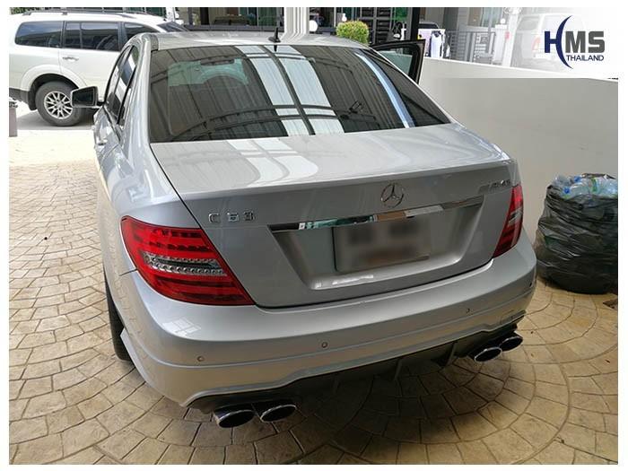 20180622 Mercedes Benz C180_W204_back,Benz, Mercedes ,เบนซ์ ,เมอร์เซเดส, ซาลูน,ราคาเบนซ์,facelift ,Brabus ,AMG ,Bluetec ,Hybrid,ไฮบริด