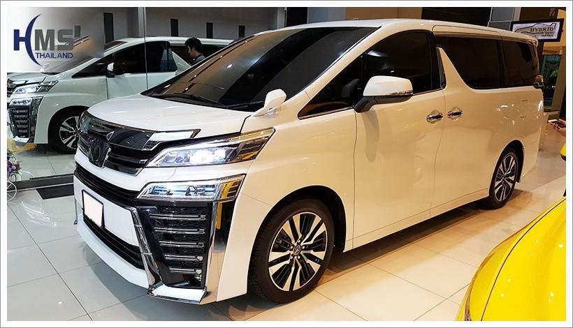 20180427 Toyota Alphard White