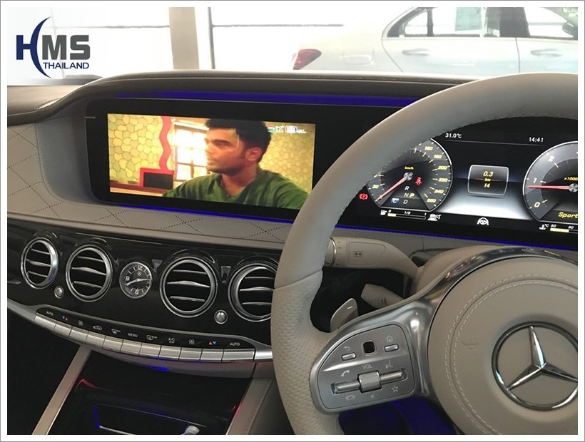 Benz S350, TV Digital,ดิจิตอล ทีวี