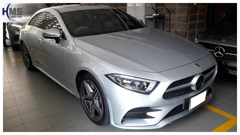 20190311 Mercedes Benz CLS300d W218_front,ติดกล้องติดรถยนต์บน Mercedes Benz CLS300d W218