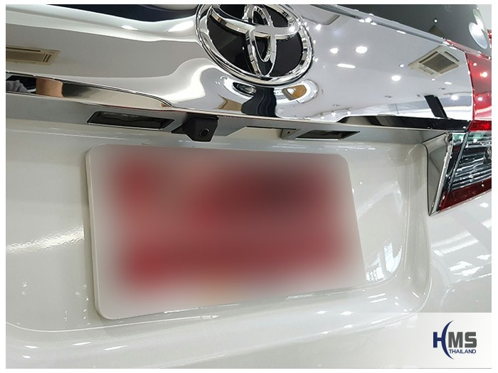 20161017 Toyota Alphard_Rear camera