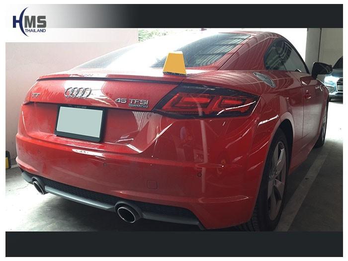 20180831 Audi TT back,ภาพท้ายรถ Audi TT