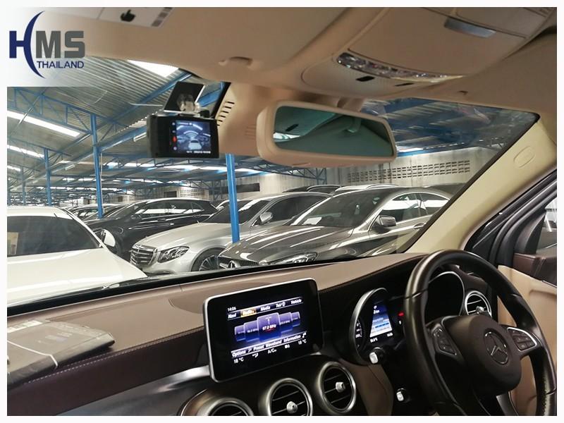 20180703 กล้องติดหน้ารถยนต์ Thinkware X330 บน Mercedes Benz GLC250d 4MATIC W253