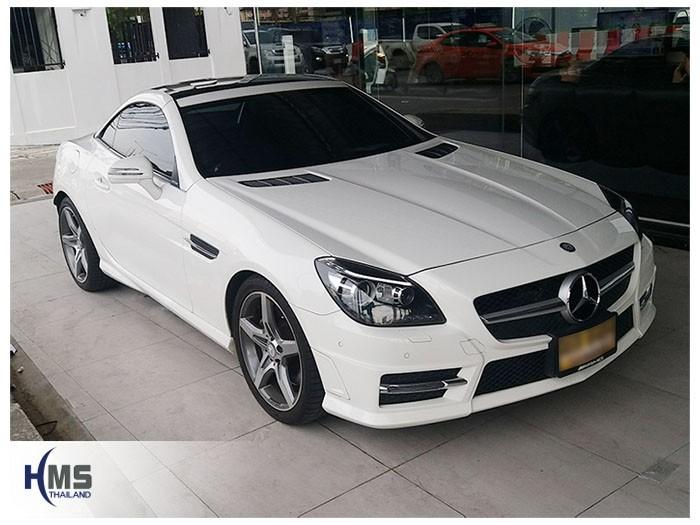 20180619 Mercedes Benz SLK200_W172_front,ติดตั้งอุปกรณ์รถ Mercedes Benz SLK200 R172