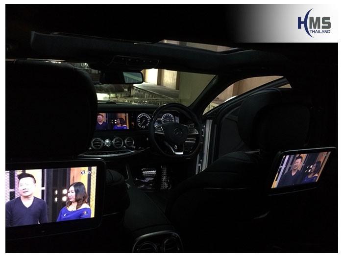 20180824 Mercedes Benz S500e_W222_TV digital_ASUKA_HR600_front,ทีมงาน HMS Thailand ติดตั้งทีวีดิจิตอลออกทั้งจอหน้าและจอหมอนทั้งสองข้างของรถ Benz S500e,TV Digital, ทีวีดิจิตอล, ดิจิตอลทีวี, ทีวีติดรถยนต์, TV ติดรถยนต์, ทีวีในรถ , ทีวีรถยนต์, Digital TV,ทีวี