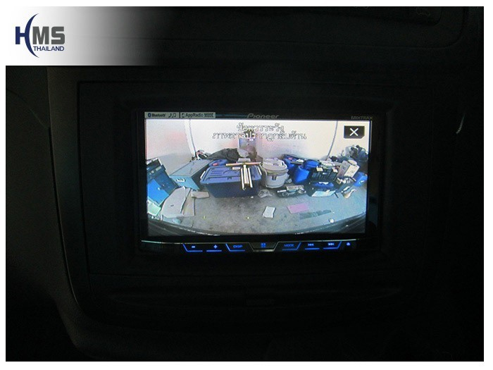 20150401 Mercedes Benz Vito C639_DVD Player_Pioneer_AVH_X5750WBT_Rear camera_View