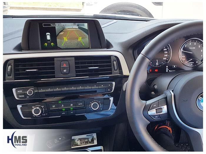 20180604 BMW 118i_Rear camera_View,กล้องถอย,กล้องมองหลัง,PAS