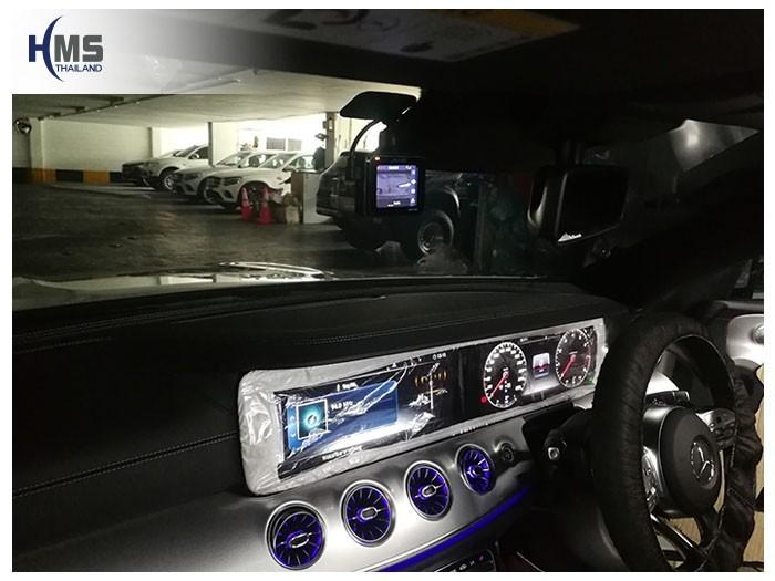 20180907 Mercedes Benz E300_Cabriolet_DVR_Mio_MiVue_C335_location,จุดติดตั้งกล้องติดหน้ารถ Mio MiVue C335 บนรถ Mercedes Benz E300 Cabriolet W213