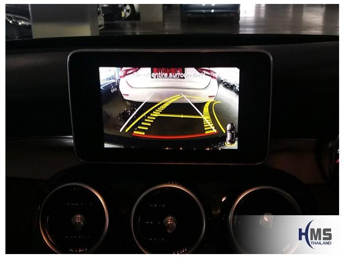 20180628 Mercedes Benz C180 W205_Rear camera_View,Rear camera,จอถอยหลัง,กล้องมองหลัง,กล้องถอยหลัง,หมุนตามพวงมาลัย,PAS,Park assistant system