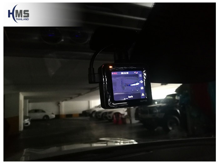 20180907 Mercedes Benz E300_Cabriolet_DVR_Mio_MiVue_C335_screen,กล้องติดรถยนต์ Mio MiVue C335 ติดตั้งหน้ารถ Mercedes Benz E300 Cabriolet W213