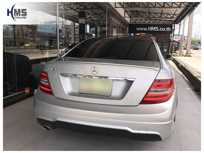 20180604 Mercedes Benz C180 W204_back,เบนซ์,เมอร์เซเดส,