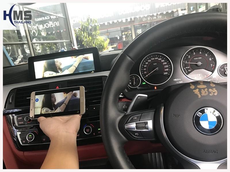 20180725 BMW 430i F33 F15_wifi box_main_menu,carplay , android auto, screen mirroring, ภาพมือถือขึ้นจอรถยนต์, Screen mirror, mirror link, car wifi display, car wifi