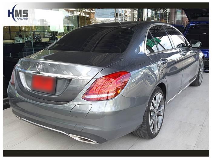 20180605 Mercedes Benz C350e_W205_back,ติดตั้งกล้องติดรถยนต์ บน Mercedes Benz C350e