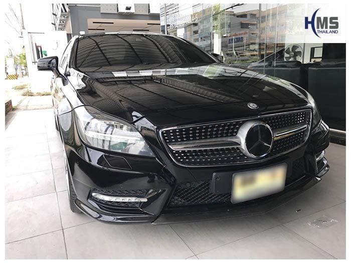 20180531 Mercedes Benz CLS250_W218_front,ติดตั้งกล้องติดรถยนต์,กล้องหน้ารถ,กล้องติดหน้ารถ