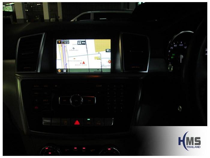 20150128 Mercedes Benz ML250 X116_Navigation box_T8000