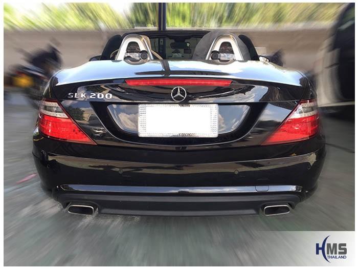 20161222 Benz SLK200_W172_Rear