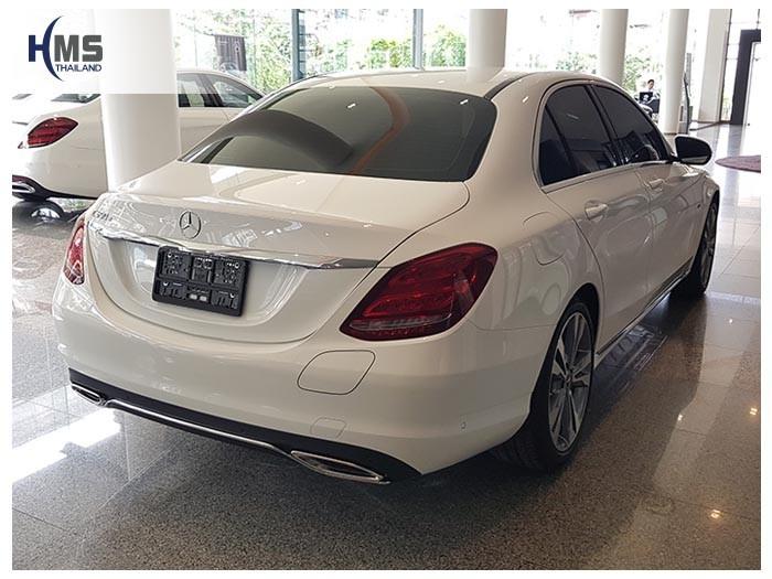 20180815 Mercedes Benz C350e_W205_back,Benz, Mercedes ,เบนซ์ ,เมอร์เซเดส, ซาลูน,ราคาเบนซ์,facelift ,Brabus ,AMG ,Bluetec ,Hybrid,ไฮบริด