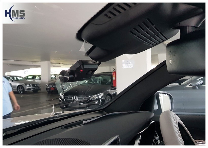 20180223 Mercedes Benz GLC250d_W253_DVR_Thinkware_F800 Pro