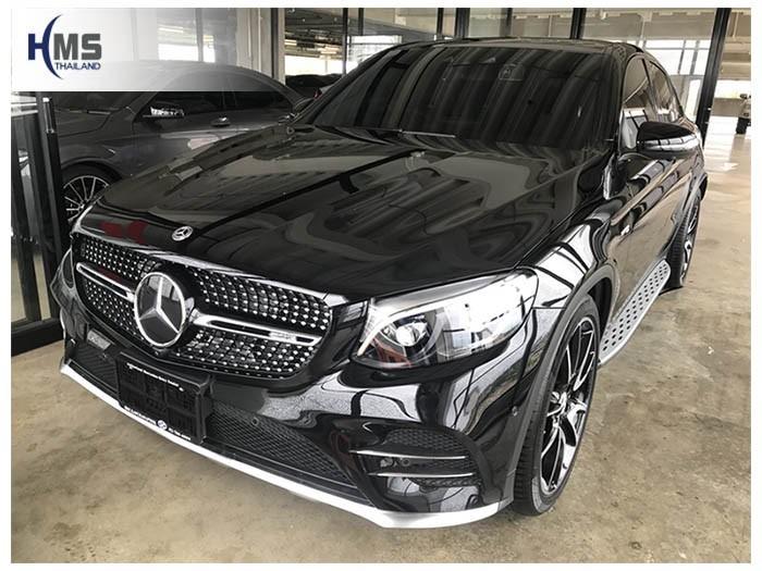 20180819 Mercedes Benz GLC43_W253_front,ติดกล้องติดรถยนต์รถ Mercedes Benz GLC43 โดย HMS Thailand