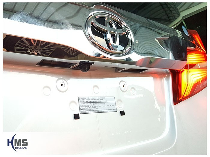 20180509 Toyota Alphard_back_Rear camera