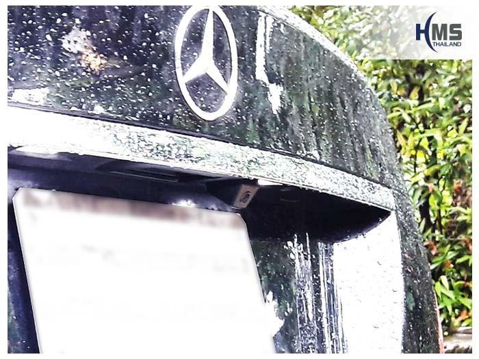 20180615 Mercedes Benz C200_W204_Rear camera,Rear camera,จอถอยหลัง,กล้องมองหลัง,กล้องถอยหลัง,หมุนตามพวงมาลัย,PAS,Park assistant system,
