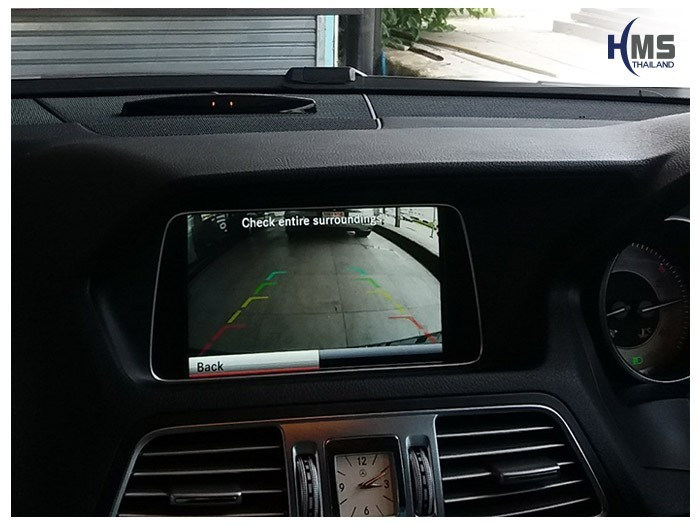 20180522 Mercedes Benz E200 Cabiolet_Rear_camera_View