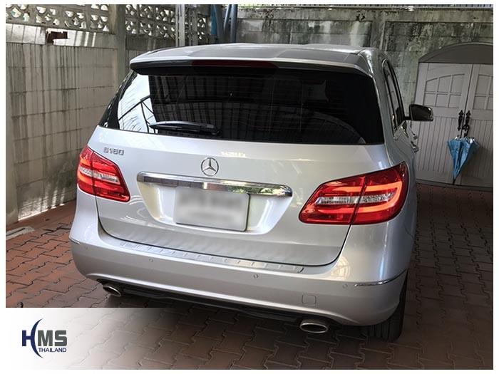 20170809 Mercedes Benz B180 W246_back