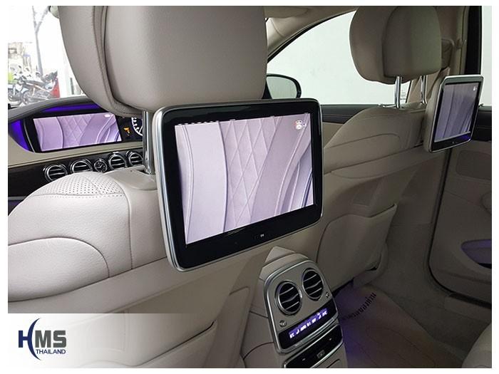 20180522 Mercedes Benz S500e_W222_TV Digital_ASUKA_HR600_rear monitor
