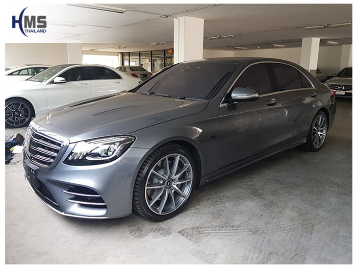20190508 Mercedes Benz S560e W222 side