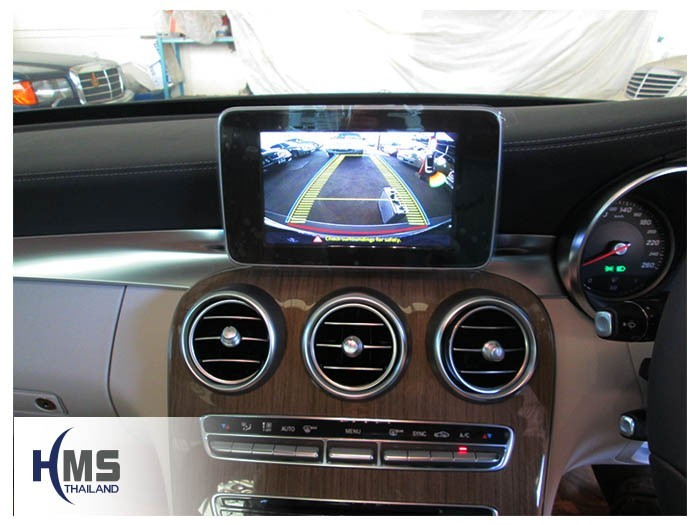 20150205 Mercedes Benz C180 W205_rear camera_View
