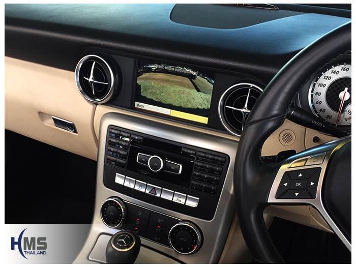 20161222 Benz SLK200_W172_Rear camera view_1